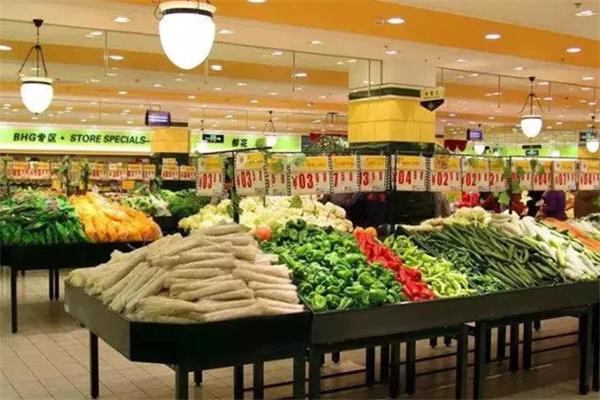 尚優生鮮超市展示