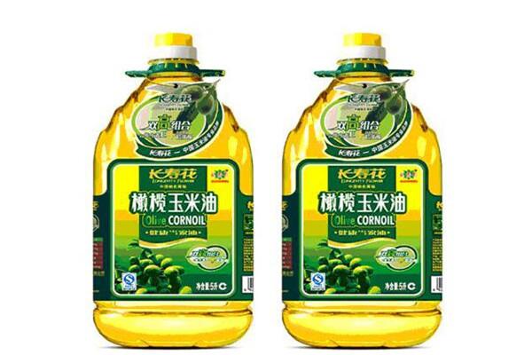 長壽花金胚玉米油產品