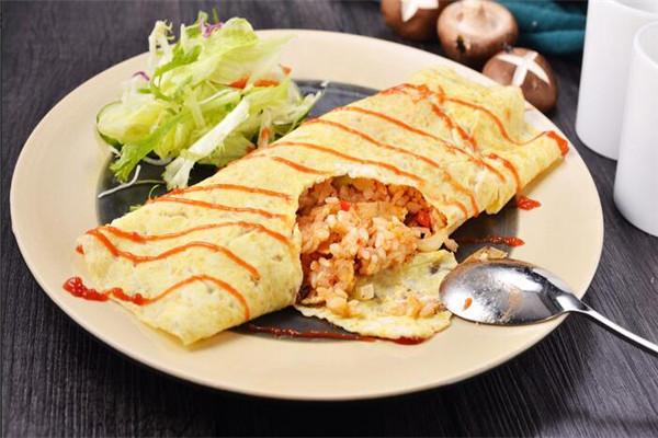 淺奈日式咖喱蛋包飯展示