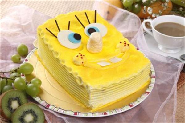 海绵宝宝零食蛋糕