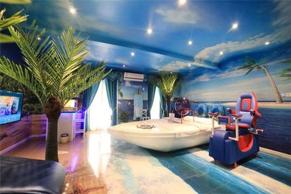 天地情情侣酒店地中海风格