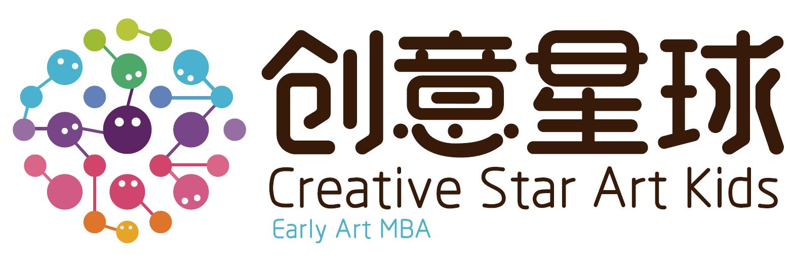創意星球少兒美術品牌logo