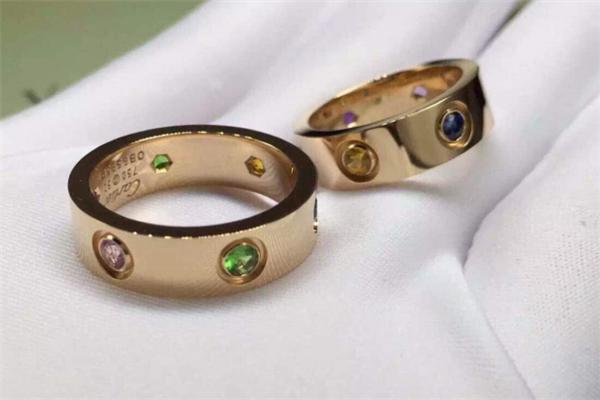 卡帝亚彩宝戒指