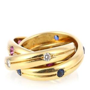 卡帝亞彩寶戒指