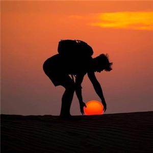 熊猫国际旅行社夕阳