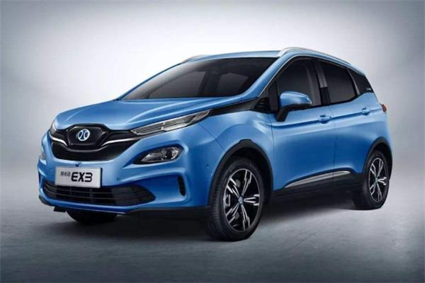 小米新能源汽车蓝色