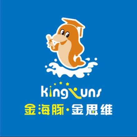 金海豚金思维加盟品牌logo
