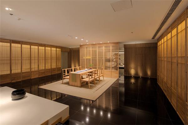巨湖酒店茶室