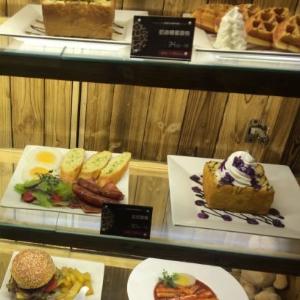 zoo coffee館甜點區