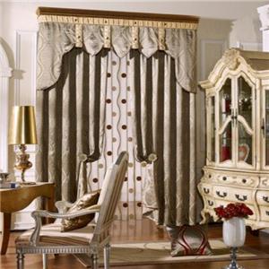 莫扎特窗簾布藝歐式