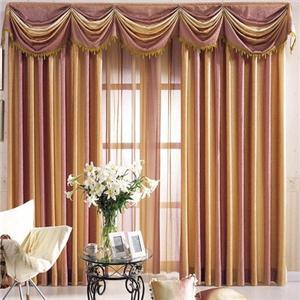 莫扎特窗簾布藝紫色