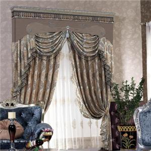 巴黎灣品牌窗簾大氣富貴