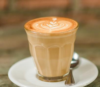 紅磚咖啡一杯
