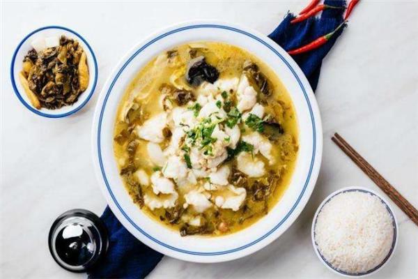 魚得水酸菜魚米飯魚鮮