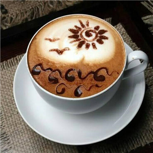 慢咖啡风景
