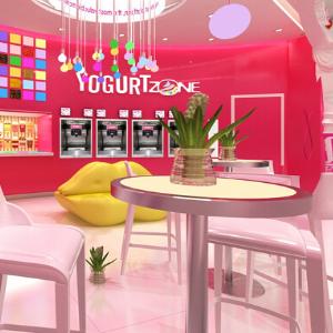優格甜品加盟