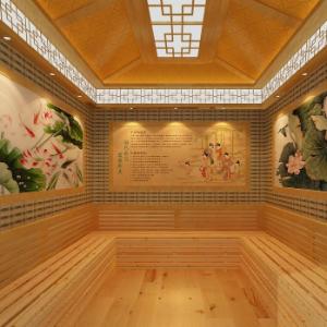 舊宮汗蒸房浴室