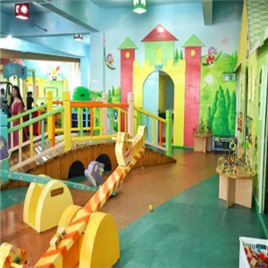 童話玩具智慧園獨木橋