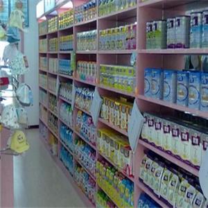 嬰之洋母嬰生活館奶粉區