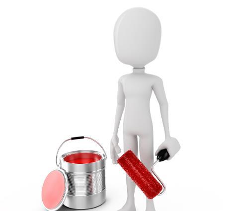 天旺涂料紅色桶子