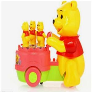 佳貝愛兒童玩具小熊車