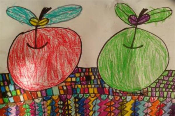東方少兒美術蘋果圖