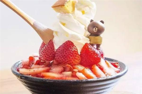 紐克雪冰甜品草莓味