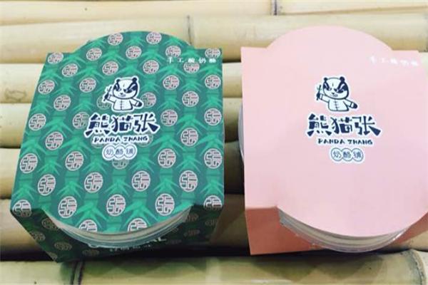 熊貓張酸奶水果撈