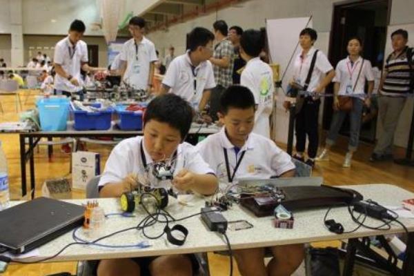 慧乐机器人教育比赛