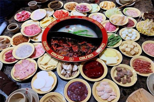 仟紅焰市井火鍋鴛鴦鍋