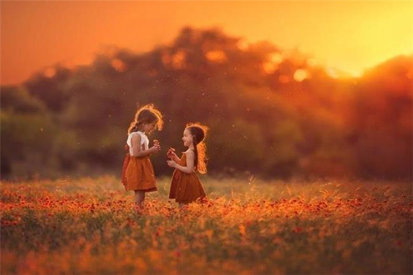 親親貝貝專業兒童攝影夕陽