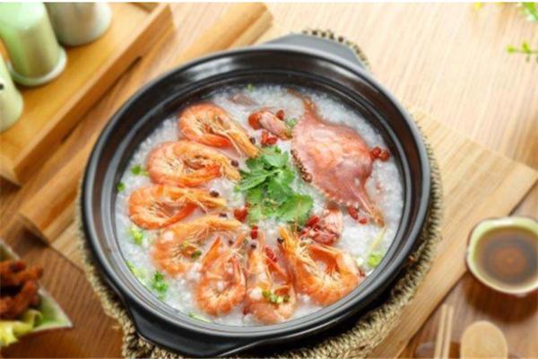 稻尚道蝦蟹海鮮粥