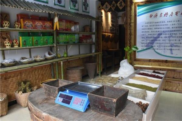 白濤鴻特產食品店內貨品