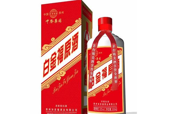 白金福白酒原酒