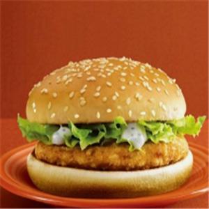 哈吉克漢堡店豬肉漢堡排