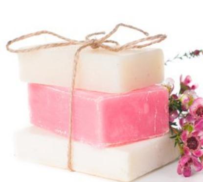 西植手工皂粉色