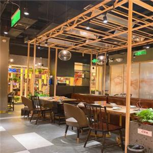 京館涮火鍋店內環境
