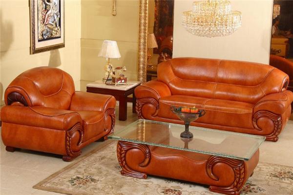 藍邦家具皮質沙發