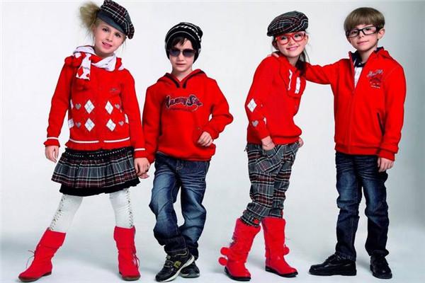 cute+童裝紅色毛衣