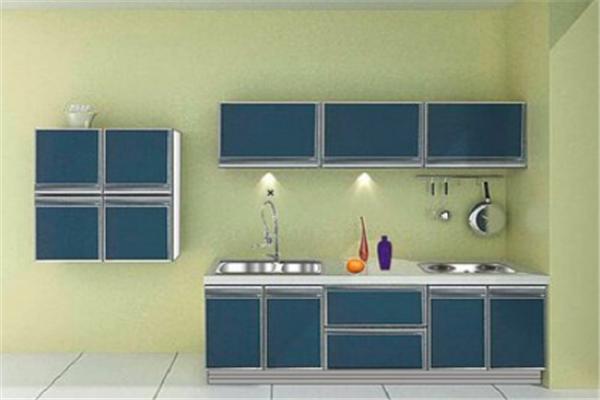 百丽晶钢橱柜门产品