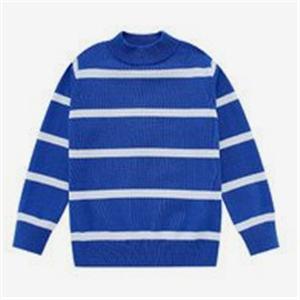 香港红奇贸易条纹毛衣