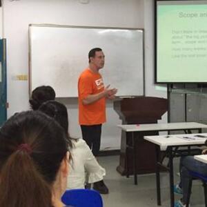洲際教育培訓教室教學圖