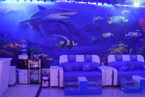 大嘴魚療館背景