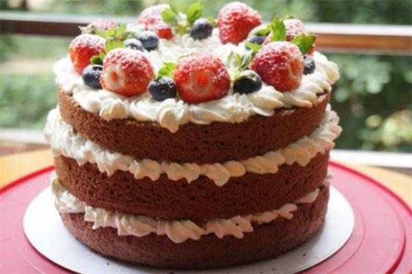 瑪瑞雅水果花甜品草莓味