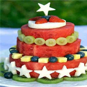 瑪瑞雅水果花甜品新鮮西瓜
