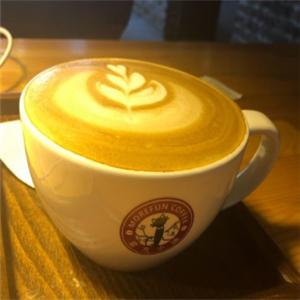 魔方小鎮咖啡館奶香咖啡