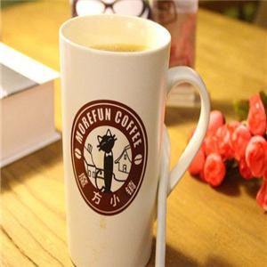 魔方小鎮咖啡館大杯原味咖啡