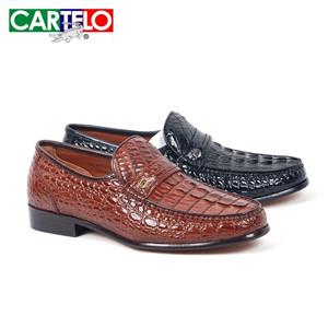 卡帝樂鱷魚皮鞋樣式