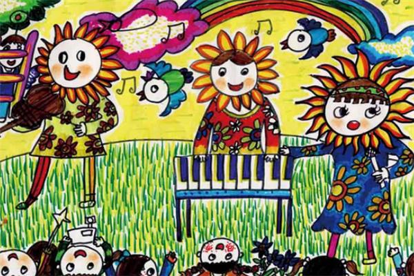 繪迪少兒美術培養孩子