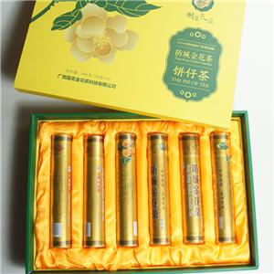 國茗金花茶裝飾